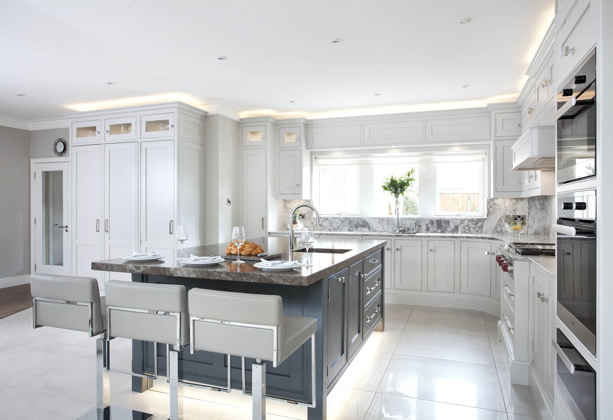 Carrickmines Detached Home Inframe Handpainted Kitchen