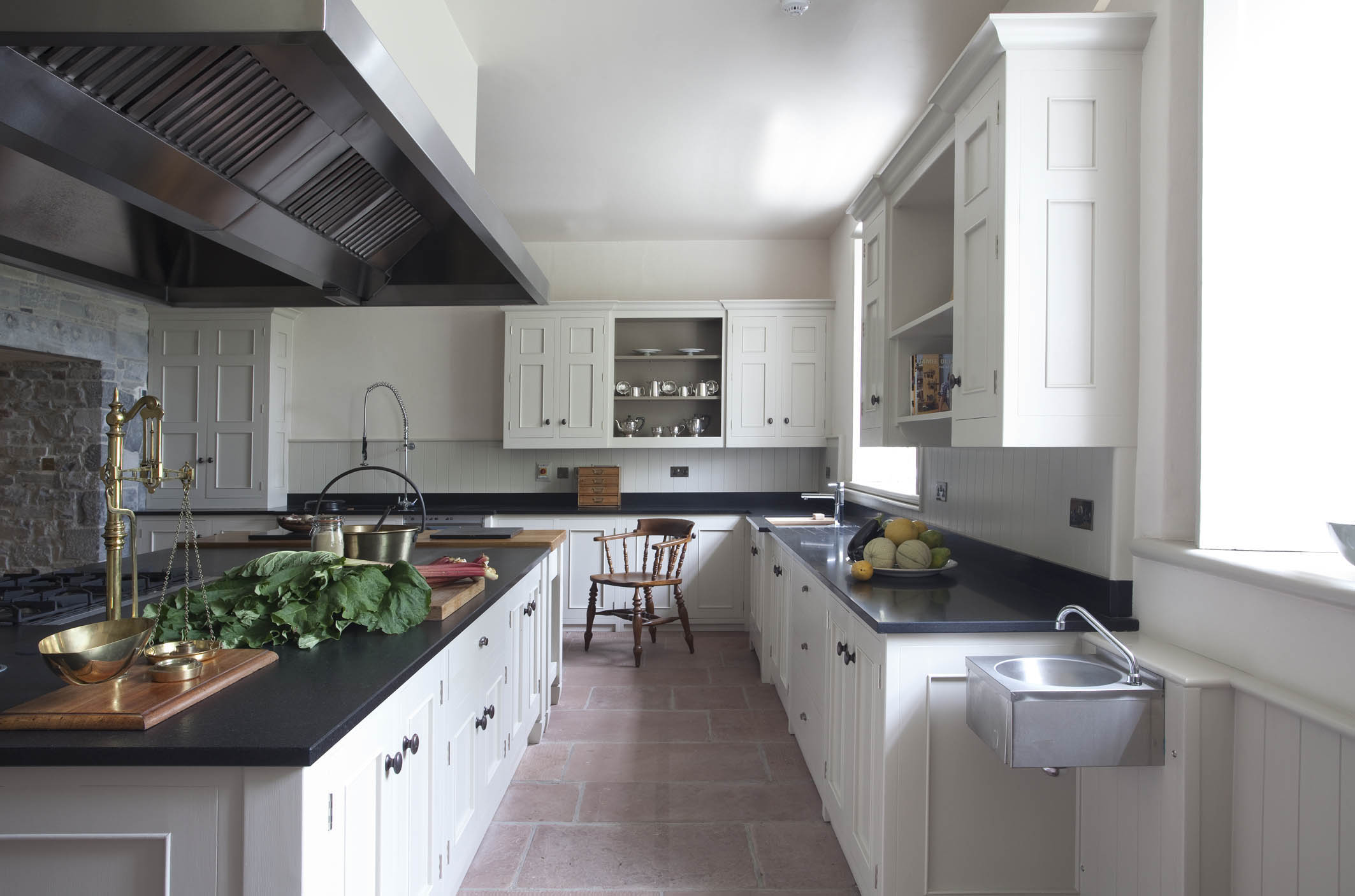 Country Retreat Hand-Painted Kitchen