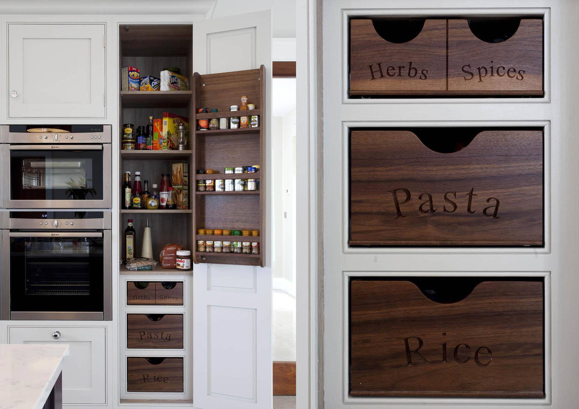 Contemporary Home, Malahide Inframe Handpainted Kitchen