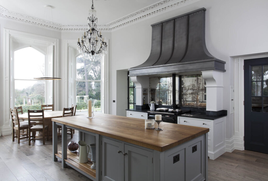 Victorian Residence Kitchen Design, Killiney